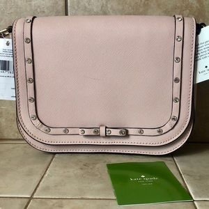 Kate Spade Lg Carsen Laurel Way Jeweled Purse NWT